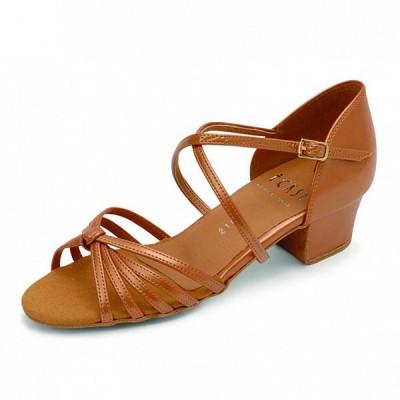 Бальные туфли Eckse Алонца (коньяк кожа)