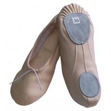 Балетки для танцев Танго 1120 бежевые