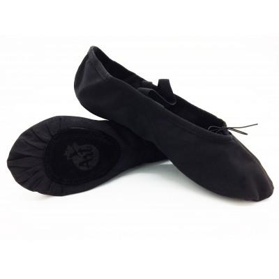 Балетки для танцев Art BA 01-00 черные