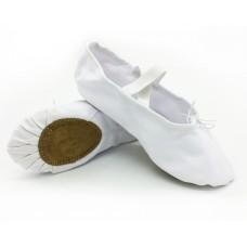 Балетки для танцев Art BA-01-00 белые
