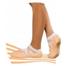 Балетки для танцев Korri бал-10 телесные
