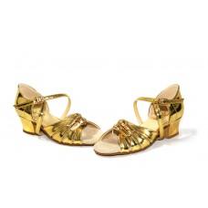 Бальные туфли Club Dance  Б-2 зеркало золото