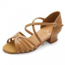 Бальные туфли Eckse Лаура (коньяк кожа)