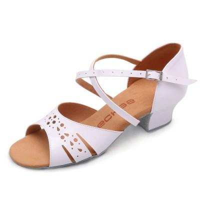 Бальные туфли  Eckse Бамбини 03 (карамельный лак)
