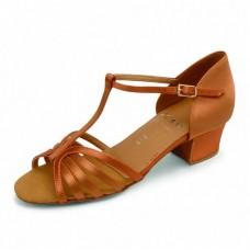 Бальные туфли Eckse Ксения (золото кожа)