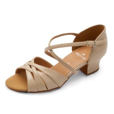 Бальные туфли Eckse Помона (коньяк кожа)
