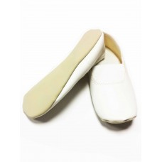 Чешки белые для танцев Башмачок БЧ-001