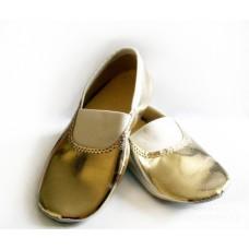 Чешки золотые для танцев 001