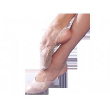 Гимнастические полутапочки Grishko стандарт ткань 03051