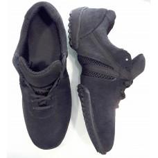 Кроссовки для танцев Fenist на шнуровке 211 замш