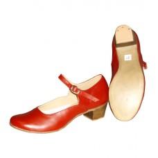 Туфли народные Танго 1968 Наборный каблук