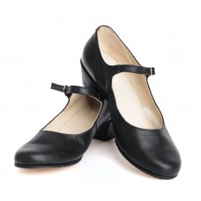 Туфли для народного танца Башмачок №2 чёрные