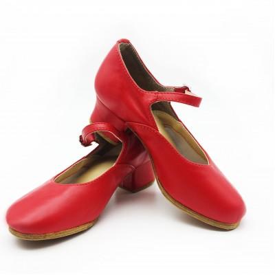 Туфли народные Club Dance Н-4 красные