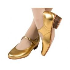 Туфли народные Вариант золото