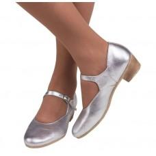 Туфли народные Вариант серебро