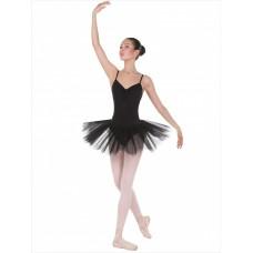 Трико балетное с отверстием Solo TR-20-36 розовое