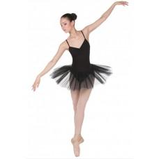 Трико балетное с отверстием Solo TR120 телесное 80DEN