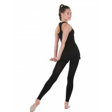 Трико для гимнастики и хореографии Solo TR155-28 черное 100DEN