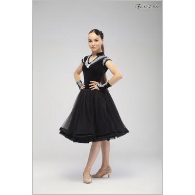 Рейтинговое платье Fenist 841 Прованс с кружевом