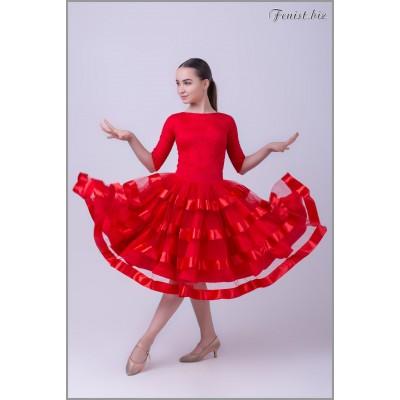 Рейтинговое платье Fenist 851/1 Гламур