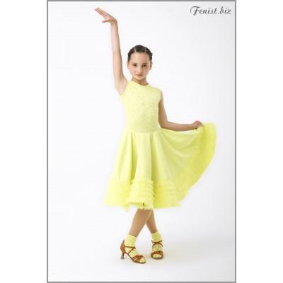 Рейтинговое платье Fenist 865 Крем