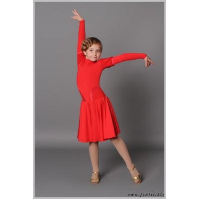 Рейтинговое платье Fenist 807 с гипюровыми бочками