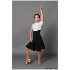 Рейтинговое платье Fenist 812 черно-белое годе