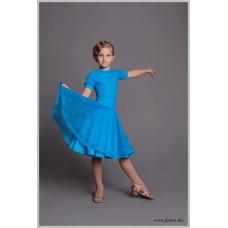 Рейтинговое платье Fenist 817 Василек