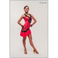 Платье латина Fenist Сапфир ПЛ-284