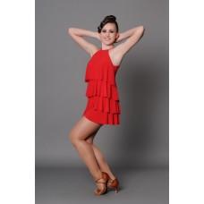 Платье латина Fenist ПЛ-151 Елка