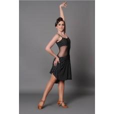 Платье латина Fenist ПЛ-50 Коровка