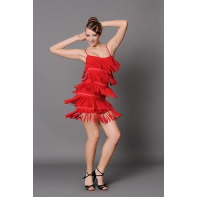 Платье латина Fenist ПЛ-152 Лапша
