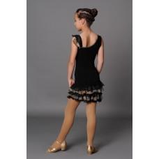 Платье латина Fenist ПЛ-17 Пион