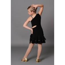 Платье латина Fenist ПЛ-63 Трюфель