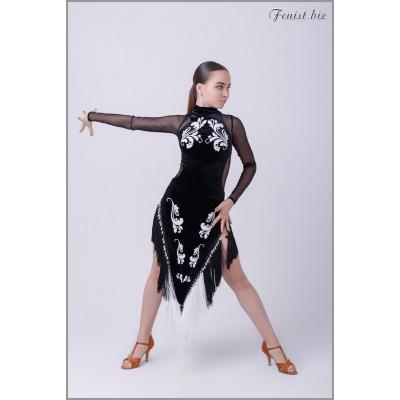 Платье латина Fenist Кутаиси ПЛ-287
