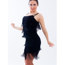 Платье для латины TOPDANCE Бахрома